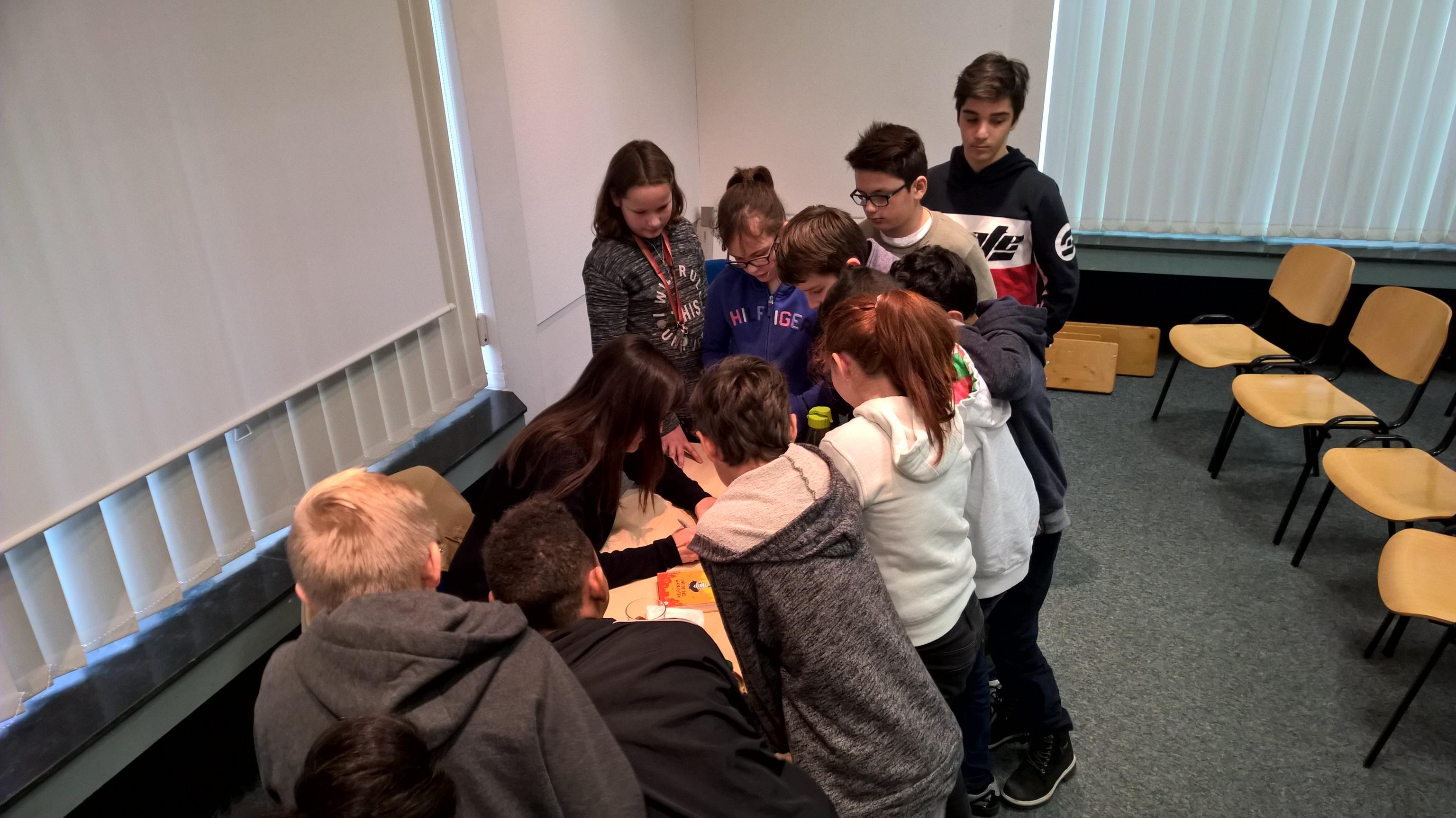 Besuch bei den Aachener Kinder- und Jugendbuchwochen