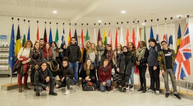 BRÜSSEL - BESUCH PROJEKTKURS EUROPA JAHRGANGSTUFE 12